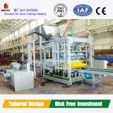 Bloco automático hidráulico Multi-Function de Qft 6-15 que faz a máquina