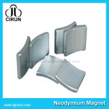 Kundenspezifische Lichtbogen-Form-Windmühlen-Neodym-Magneten