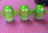 L'Android Robot Mini Cartoon Bluetooth Sound Box MP3 Speakers