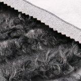 Tissu en nylon traité de laines avec la fourrure