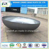 楕円形のヘッド炭素鋼の皿に盛られた端