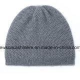 Cappello puro A16mA1-001 del cachemire del grado della parte superiore di colore solido degli uomini