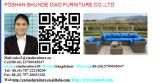 F屋外の家具は緩める柳細工の庭のソファー(FC043)を