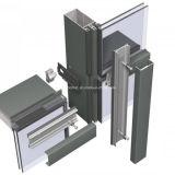 Paredes de cortina de cristal puestas en unidades precio de calidad superior del sistema de la fuente mejor