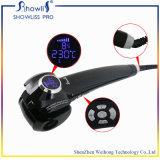 Rolo automático do cabelo do indicador da temperatura do LCD do ferro de ondulação do cabelo de Showliss
