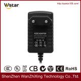 12V 1A AC gelijkstroom de Adapter van de Macht met de Stop van de EU