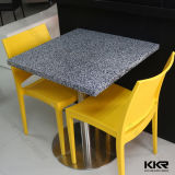Kkr Solid Surface Restaurant Dining Table per Fast Food