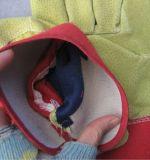 Werk handschoen-3593 van de Palm van het Leer van het varken het Gespleten Volledige