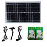 Mini kit solare portatile di illuminazione con il MP3 e la funzione radiofonica