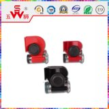 Hot Sale Red Electric Horn avec service OEM