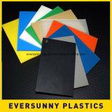Зеленый пластичный re-Useble лист PP полый для валов & индустрий