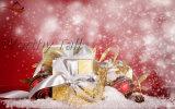 Caja de embalaje de lujo para el regalo de la Navidad