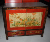 Antique Mongolia Wood Small Cabinet Lwb827