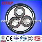 бронированный кабель 3X150mm ленты алюминиевого кабеля 10kv стальной