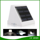 Mini Lâmpada 4LED Garden Path Outdoor Solar Wall Light LED