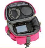 SH16051345ピンクの防水キャンバスのカメラ袋