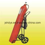 Катят огнетушитель СО2 (сталь сплава, GB8109-2005)