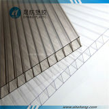 PC transparente Plate de Twin Wall Polycarbonate com Coating UV