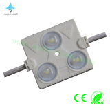 Super Alto Brillo 3 X SMD5730 LED Módulo de Inyección con Lente (180 grados)