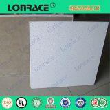 Painel de placa de teto acústico de fibra mineral