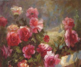 Wedding Decoration Home Decoration를 위한 베스트셀러 New High Quality Modern Abstract Paintings Canvas Flower Oil Painting