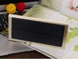 Хороший крен солнечной силы металла качества 8000mAh тонкий с светом СИД