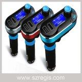 Transmissor sem fio do carregador FM do jogo do carro do jogador de Bluetooth MP3