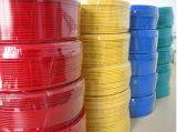 Alambre eléctrico flexible del PVC, cable de cobre puro del conductor