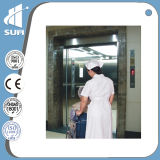 с Handrail и PVC Floor Hospital Elevator Speed 1.0m/S