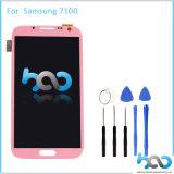 Rosafarbene LCD-Bildschirmanzeige für N7100 Touch Screen der Samsung-Anmerkungs-2