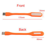 para la lámpara del ordenador LED de la batería de la potencia, luz del USB LED de Xiaomi con el USB