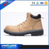 Обувь Ufb025 безопасности PU Nubuck верхняя единственная мягкая верхняя