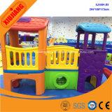 子供のための幼稚園の運動場のゲームの演劇項目安いプラスチックプレイハウス