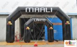 Arco inflável da entrada 2016 para para fora o anúncio da porta