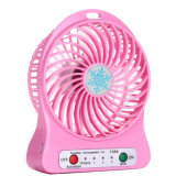 Mini ventilador de múltiples funciones colorido recargable de la mejor calidad