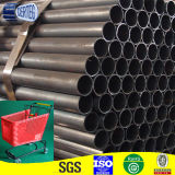 Schwarzes Carbon Steel Welded Pipe für Furniture Structure