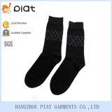 Mens-Baumwollkleid-Geschäfts-geometrische Socken
