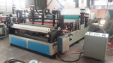 Rolo industrial automático de alta velocidade do papel higiénico que converte máquinas