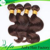 Aofaの人間のバージンの毛の乳白色の人間の毛髪の拡張