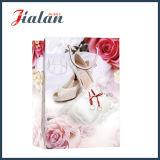 Напечатанные таможней Wedding мешки подарка несущей покупкы упаковки ботинка бумажные
