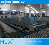 Planta de fabricación del transportador de cadena del listón del refrigerador