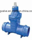 BS5163 Resilient Seat Non-Rising Stem Gate Valve com Epoxy Coating