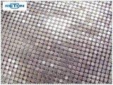 Tissu de maille de Sequin d'hologramme/rideau maille en métal