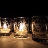 Supporto di candela unico e nuovo di natale di disegno