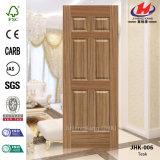 Porte en bois de stratifié intérieur blanc de perfection