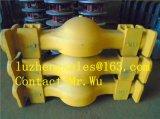 Areia Casting Parte, Ductile Iron Casting, Iron Casting com Qt450-10 & Ggg50