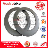 Rodas de carbono 50 mm Clincher for Road Bike Taiwan Hub Road