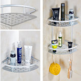 Rust Free Set de salle de bain en acier inoxydable Wall Basket Shelf (W01)