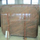 Plak van de Parel van de Steen van het Graniet van de Invoer van India de Zwarte voor Tegels/Countertops