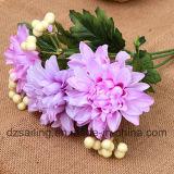 Flor artificial del ramo de la dalia usada para la decoración (SF14149)